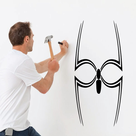 Abstract Legs Spider Decal