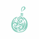 Christmas Ornament Wall Decal - Vinyl Decal - Car Decal - DC 033