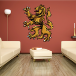 Courageous Medieval Lion Decal