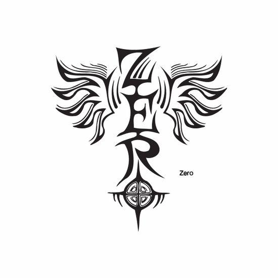 Zero Wings Graffiti Decal