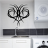 Tribal Pinstripe Wall Decal - Vinyl Decal - Car Decal - 615