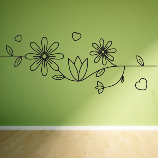 Mothers Day Line Art Decal