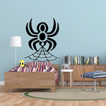 Spider Spinning Web Decal