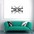 Tribal Pinstripe Wall Decal - Vinyl Decal - Car Decal - 635