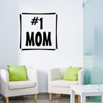 Number 1 Mom Decal