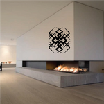 Tribal Pinstripe Wall Decal - Vinyl Decal - Car Decal - 640