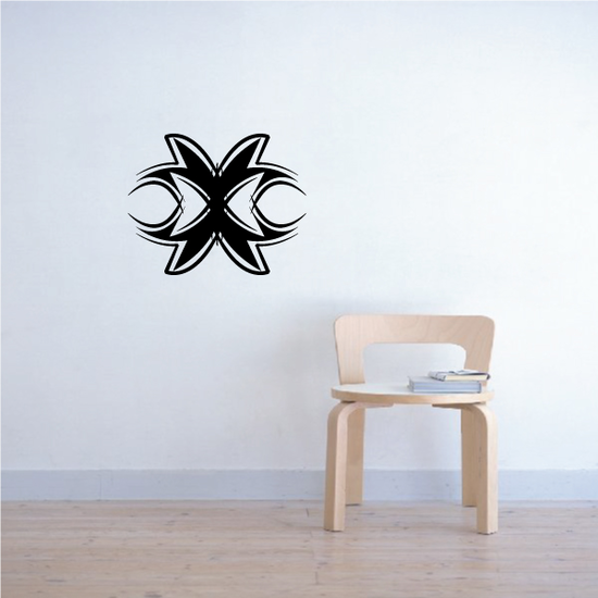 Tribal Pinstripe Wall Decal - Vinyl Decal - Car Decal - 641