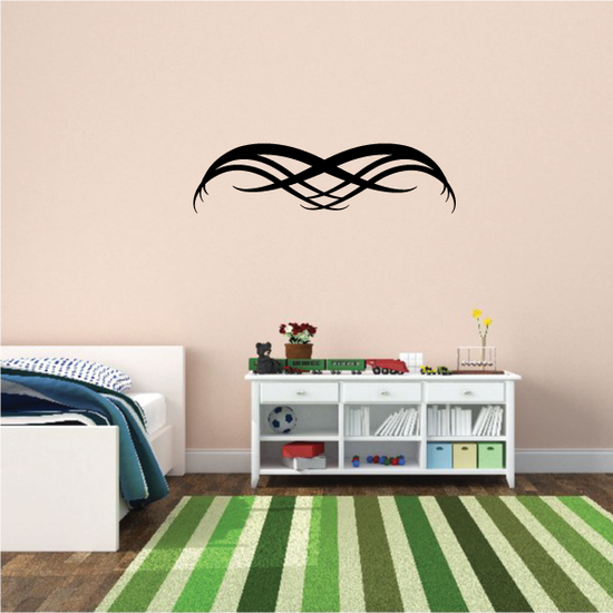 Tribal Pinstripe Wall Decal - Vinyl Decal - Car Decal - 646