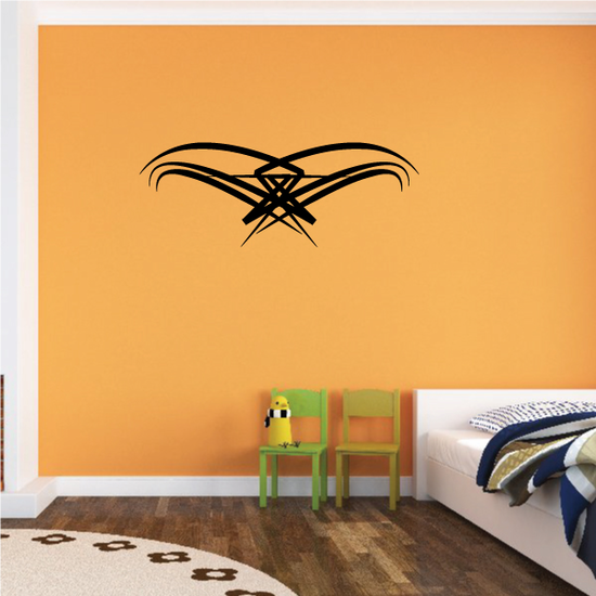 Tribal Pinstripe Wall Decal - Vinyl Decal - Car Decal - 649