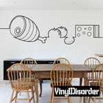 Food Line Art Decal