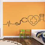 Health and Care Decal