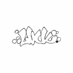 Luck Graffiti Decal