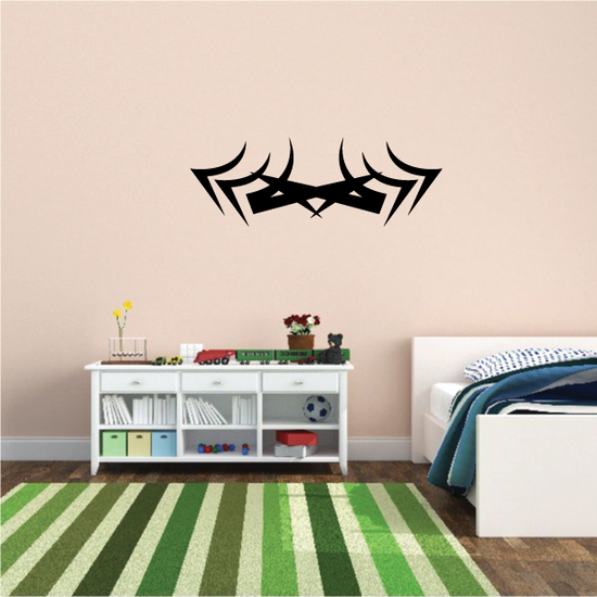 Tribal Pinstripe Wall Decal - Vinyl Decal - Car Decal - 660