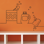 Soap Detergent Decal
