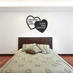 Choose Thy Love Love Thy Choice Wall Decal