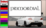 Primordial Decal