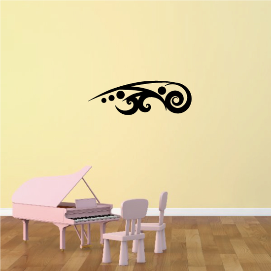 Tribal Pinstripe Wall Decal - Vinyl Decal - Car Decal - 665