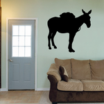 Standing Mule Decal