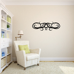Tribal Pinstripe Wall Decal - Vinyl Decal - Car Decal - 681