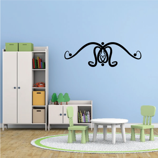Tribal Pinstripe Wall Decal - Vinyl Decal - Car Decal - 683