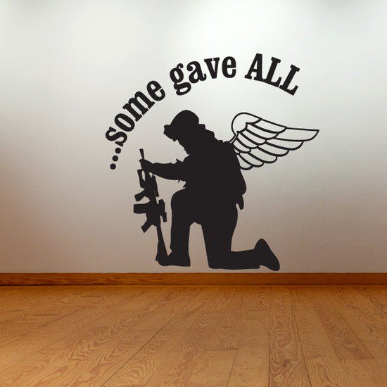 Some Gave all Sniper Soldier Decal