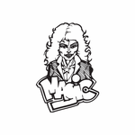 Magic Woman Graffiti Decal