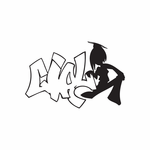 Girl Graffiti Decal