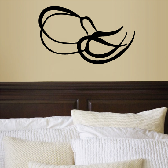 Tribal Pinstripe Wall Decal - Vinyl Decal - Car Decal - 701