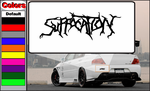 Suffocation Decal