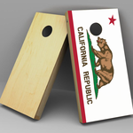 State Flage Cornhole boards