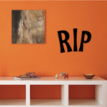 Rest In Peace Wall Decal