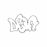 Drift Graffiti Decal