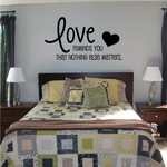 Love Reminds You That Nothing Else Matters Wall Decal