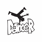 Dancer Graffiti Decal