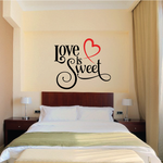 Love is Sweet Decal