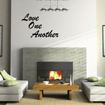 Love One Another Stacked Decal