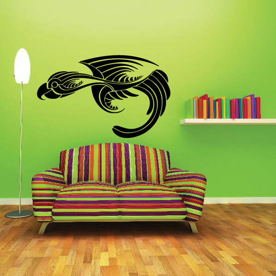 Tribal Vehicle Pinstripe Vinyl Decal - Car Decal - Wall Decal - MC073