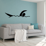 Water polo Wall Decal - Vinyl Decal - Car Decal - Bl002