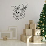 Skull Wall Decal - Vinyl Decal - Car Decal - CF350