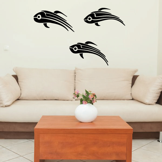 Tribal Vehicle Pinstripe Wall Decal - Vinyl Decal - Car Decal - MC102
