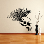 Skull Wall Decal - Vinyl Decal - Car Sticker - CD12027