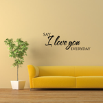 Say I love you Decal