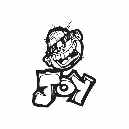 Joy Graffiti Decal