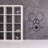 Cartoon Staring Mouse Decal