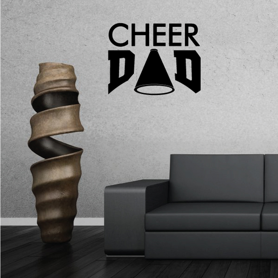 Cheer Dad Decal