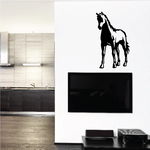 Brave Standing Foal Decal