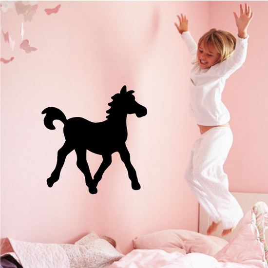Simple Fancy Pony Decal