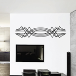 Tribal Vehicle Pinstripe Wall Decal - Vinyl Decal - Car Decal - MC157
