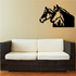 Double Stable Horse Head Decal