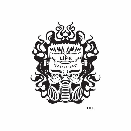 Life Graffiti Decal